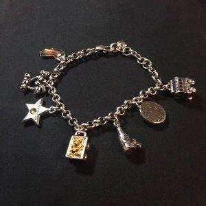 NWOT Brighton California charm bracelet